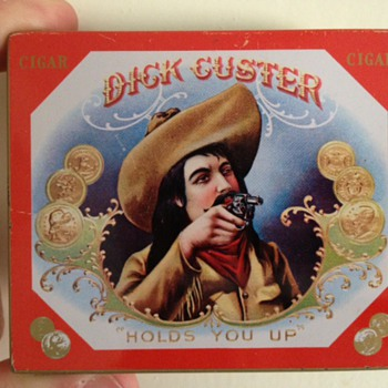 Dick Custer Cigar Tin