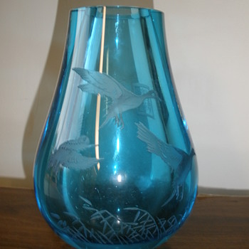 Our vase or vessel for identification ?  - Art Glass