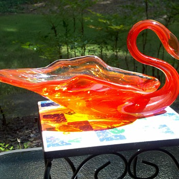Orange Swan by Jolly GB!