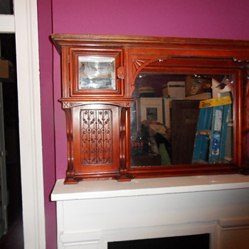 Aesthetic Eastlake Over-Mantel Mirror