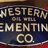 Porcelain Oil Sign