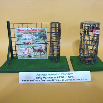 ADVERTISING DESK SET  - Advertising