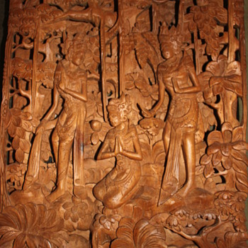 3d Balinese Carving - Asian