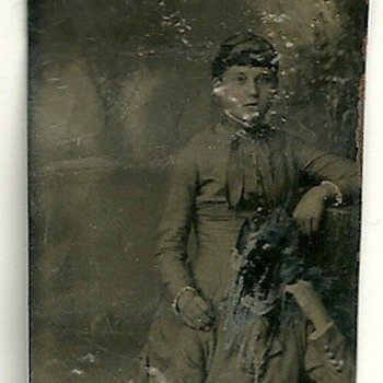 Cutted Tintype - Photographs