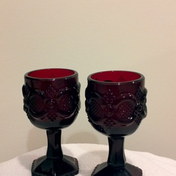 Vintage Avon Candle Holders