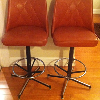 1960 swivel bar stools.