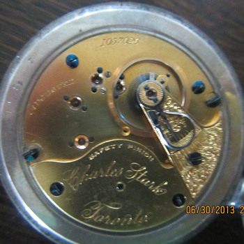 Antoque Charles Stark Pocket Watch
