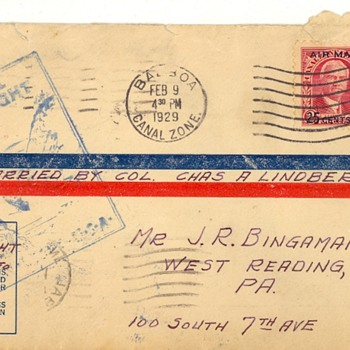 Lindy Cover - Stamps