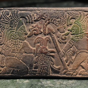Small Tourist Plaque from the Mayan World?