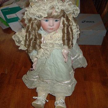Antique Bisque Doll - Dolls