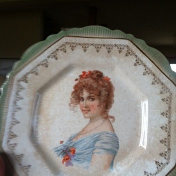 Porcelain Limoges Plate - China and Dinnerware