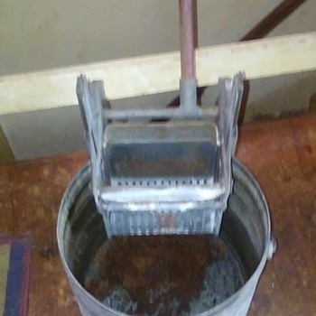 Geerpres Mop bucket and wringer