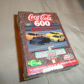 Coca Cola Cards & Coca Cola Tin