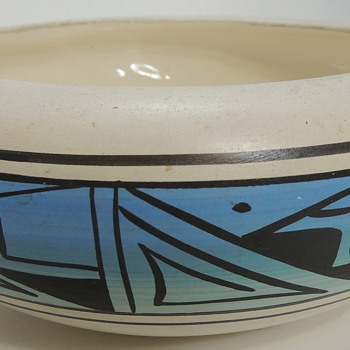 Modern Navajo Pottery?? I think