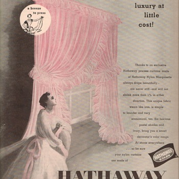1950 Hathaway Advertisements