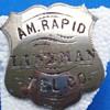 Telephone Company Employee Badge's