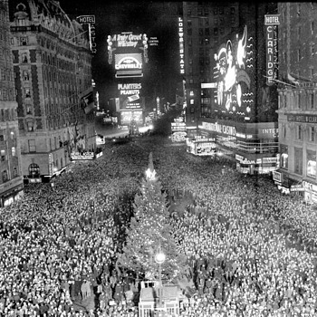 New Year's Eve In New York 1938 - Photographs