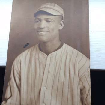 Negro League Baseball Player 1920s