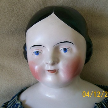 1850s China doll German - Dolls