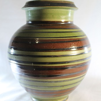 Herman August Kahler Denmark Vase - Art Pottery