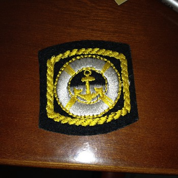 Unknown patch-not sure it's military