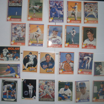 nolan ryan pacific baseball cards 1991 1990  - Baseball
