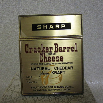 Kraft Foods Cracker Barrel Lighter - Tobacciana