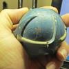 Live grenade metal ball