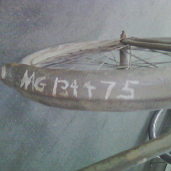 Military issued bicycle