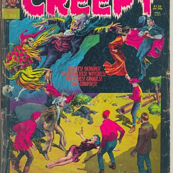 "October 1975 ""CREEPY"" MAGAZINE #74. Super Special  - Paper"