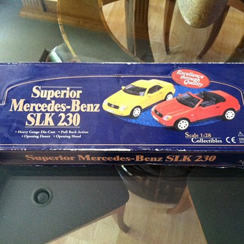 Superior Mercedes-Benz SLK 230 Scale 1:28 Collectibles - Model Cars