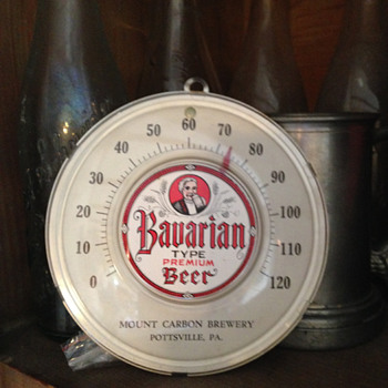 Mount Carbon Brewery Thermometer