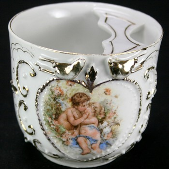 Victorian Moustache Cup - Victorian Era