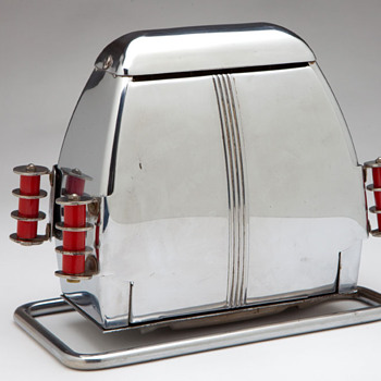 "Extremely Rare Art Deco ""SUPERLECTRIC"" No. 66 Vintage Toaster - Kitchen"