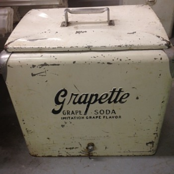 Grapette Progress A1 Cooler - Advertising