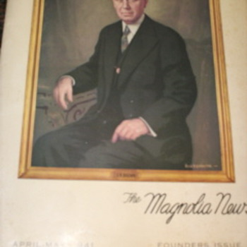 The Magnolia News   Apr-May 1941  Founders Issue - Petroliana