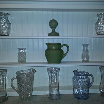 Water Pitchers - Glassware