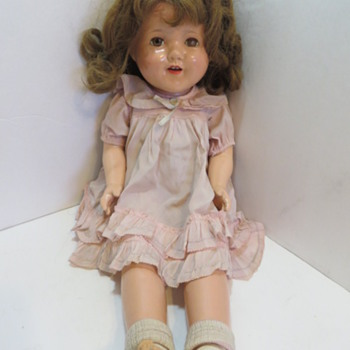 Effanbee Lovums Pat no 1283558 with real hair  - Dolls