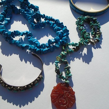 TURQUOISE JEWELRY! JADE? Coral?  - Fine Jewelry