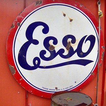 ESSO/Standard sign - Petroliana