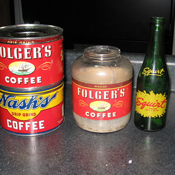 Coffee tins - Kitchen