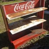 Coca Cola store display shelving