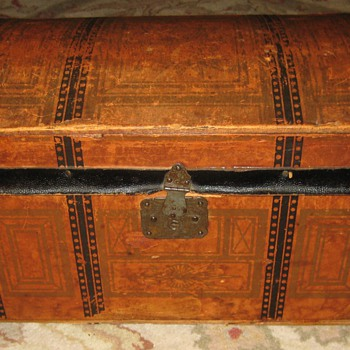 Antique Toy Trunk