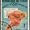 "1969 - Chad ""Olympic Sports"" Postage Stamps"