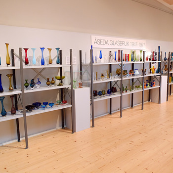 Great Åseda exhibition in Växjö! - Art Glass
