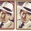 2 deck set of John Wayne playing cards