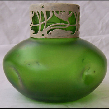 KRALIK/ STOHLZE (?)  VASE - Art Glass