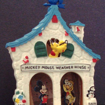 MICKEY MOUSE WEATHER HOUSE 1950s