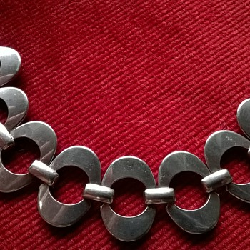 "Beautiful Vintage Bracelet Stamped ""3 S"""