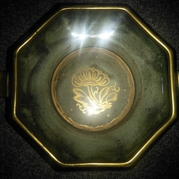 Lustre bowl by Josef Ekberg for Gustavsberg